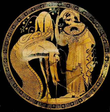 Jason, Athena and the Golden Fleece