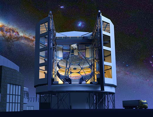 GMT: Giant Magellan Telescope Canary Islands