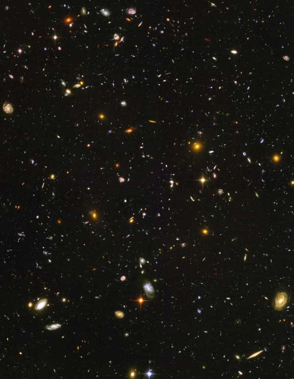 The Hubble Ultra Deep Field (HUDF)