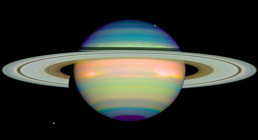 Saturn, 1998 by the HST